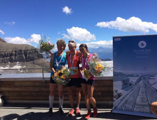 3 miejsce w Glacier 3000 Run&Marathon